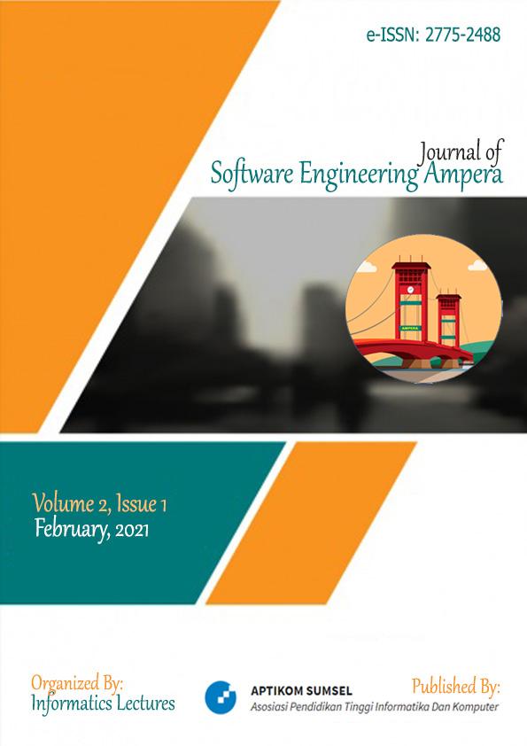 View Vol. 2 No. 1 (2021): Journal of Software Engineering Ampera